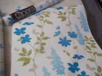 5 x rolls of Luxury Wallpaper - ARTHOUSE OPERA also Matching Cushions & Throw