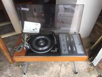 Approx 1970's Deccasound Compact 10' Audio System. (DS5329). Delivery available