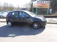 FORD FIESTA GHIA TDCI 5DOOR 1.6 HATCHBACK WITH FULL SERVICE HISTORY & £30 Road Tax Per Year