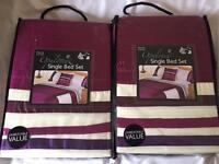 2 single bed sets