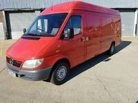 2005(05) Mercedes Sprinter 313 CDI LWB COVERED 240K!!MOT 11/2016 NO VAT NOT TRANSIT/IVECO/MASTER