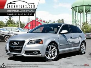 2012 Audi A3 S-LINE! LEATHER AND SUNROOF