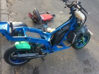 Gilera runner 70cc reg as 50cc (non-runner)