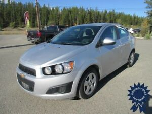 2015 Chevrolet Sonic LT Front Wheel Drive - 52,031 KMs, 1.8L Gas