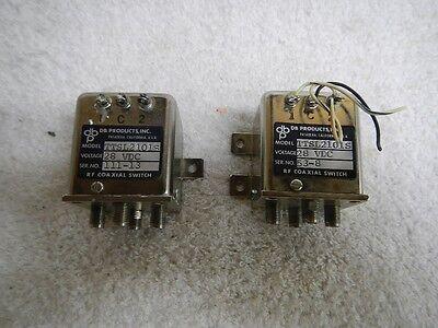 Db Products Inc. Rf Coaxial Switch Ttsl2101s 28 Vdc