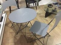 Folding Metal Garden Table and Chairs