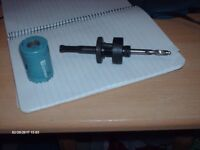 38mm HOLESAW AND ARBOR