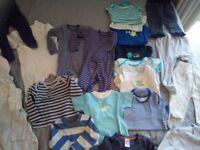 28PCS Baby boy clothes bundle 6-9M 9-12M mixed