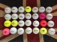 27x Pinnacle, Dunlop, Ultra etc Job Lot Golf Balls