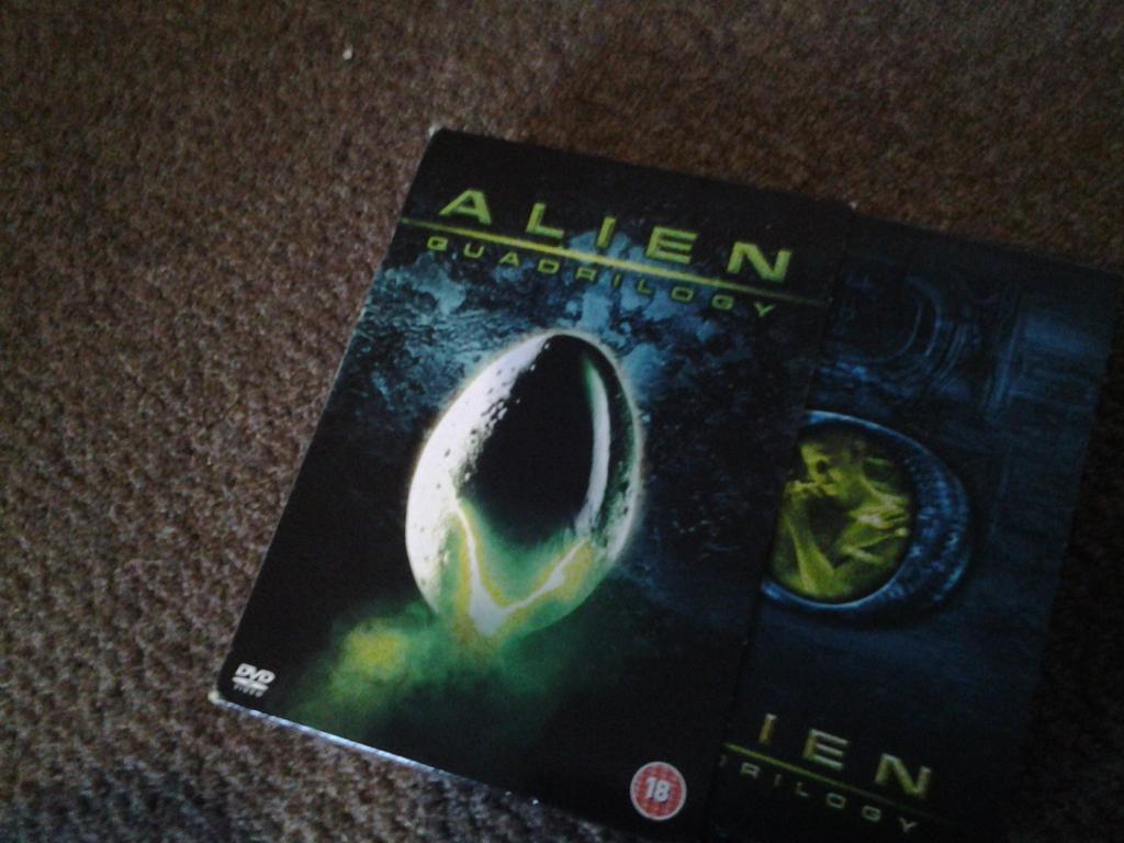 aliens dvd box set