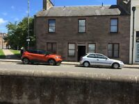 2 bedroom Fully double Glazed Gas central Heated Flat Central Forfar Location Ample parking
