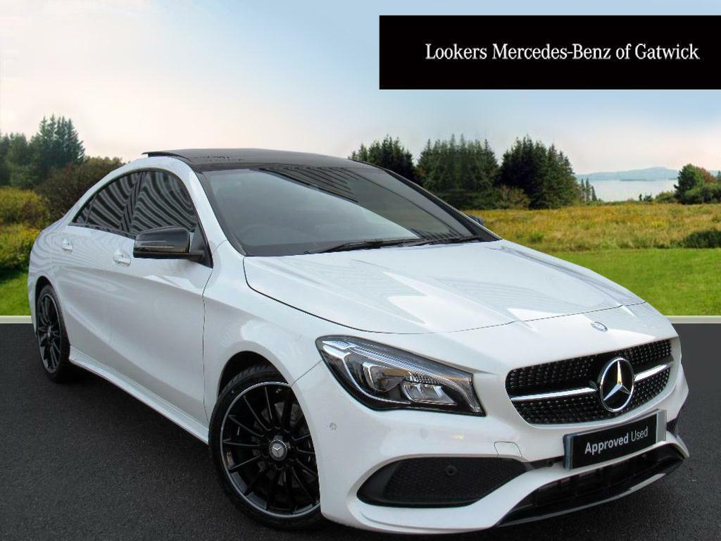 mercedes benz cla cla 220 d amg line white 2016 12 05 in crawley west sussex gumtree. Black Bedroom Furniture Sets. Home Design Ideas