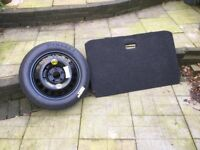 Corsa d or e space saver wheel and false boot floor