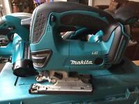Makita 18v Jigsaw & x2 Circ saws