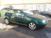 Volkswagen GOLF GT TDI,6 speed manual,5 door hatchback,clean tidy car,runs and drives well,LL02MKU