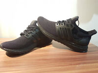 Adidas Ultra Boost Trple Black - UK 7.5 - Mens Gym Trainers Running