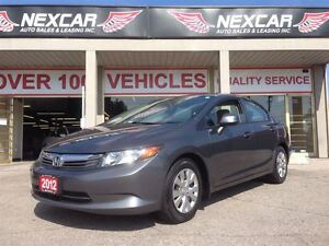 2012 Honda Civic LX 5 SPEED A/C CRUISE ONLY 136K