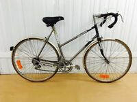 Super Light Ladies Dawes Road Bike 57 cm Serviced Excellent For Commuting