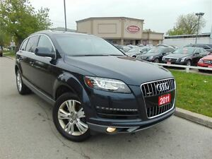 2011 Audi Q7 NAVI-CAMERA- PANORAMIC-LOW KM'S!!!!