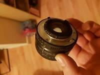 Lens nikon f1.8 D 50mm