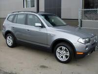 BMW X3 3,0i 2007* 107209 Km FULL+ GARANTIE COMPLETE 3 ANS