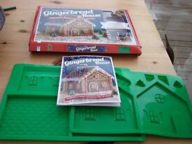 Easy to make Gingerbread House Kit. BNIB. Never used. Great fun, complete with book. £5. Torquay