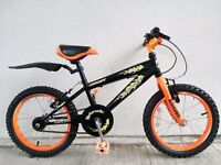 """(2531) 16"""" 9"""" CONCEPT HOTROCK BOYS GIRLS KIDS CHILD MOUNTAIN BIKE BICYCLE Age: 5-7 Height: 105-120cm"""