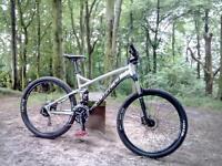 Norco fluid 7.3 2015 full suspension mountain bike cost £1,000 last year