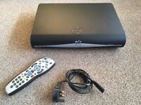 Sky HD box for sale with remote