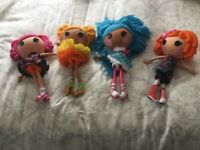 LaLa Loopsy Dolls x 4 (Great Condition) - Job Lot Price of £20