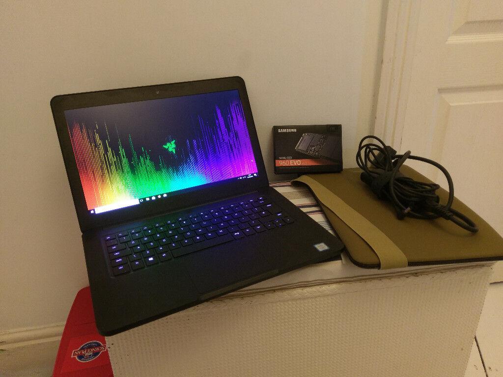 Razer Blade 14 inch gaming laptop - GTX 1060, 1tb drive, i7 processor, 16gb  RAM | in Southampton, Hampshire | Gumtree