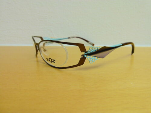 Originale, teilrandlose Designerbrille BOZ by JF Rey Mod. OLYMPE 9520