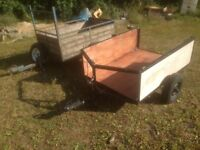 two car trailers for sale