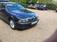 BMW, 5 SERIES, Saloon, 2002, Manual, 2494 (cc), 4 doors