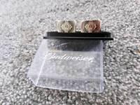 Budwiser cufflinks