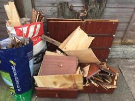 Free Bonfire wood