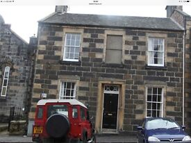 Excellent large Georgian town house in the centre of Stirling yet on a quiet , elegant street .HMO .