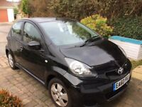 Automatic Toyota AYGO 1.0 (67bhp) AYGO Black (a/c) Hatchback 5d 998cc MMT MOT May 2018
