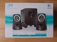 Logitech Z313 Stereo Computer Speakers & Subwoofer - PC Mac Ipod MP3