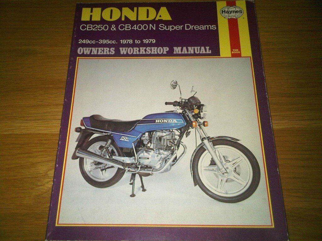 Honda Cb400 Repair Manual ...