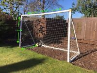 Large Portable Goal Post + Carry Bag