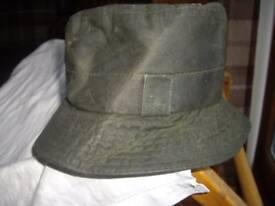 Ladies Barbour waxed hat.
