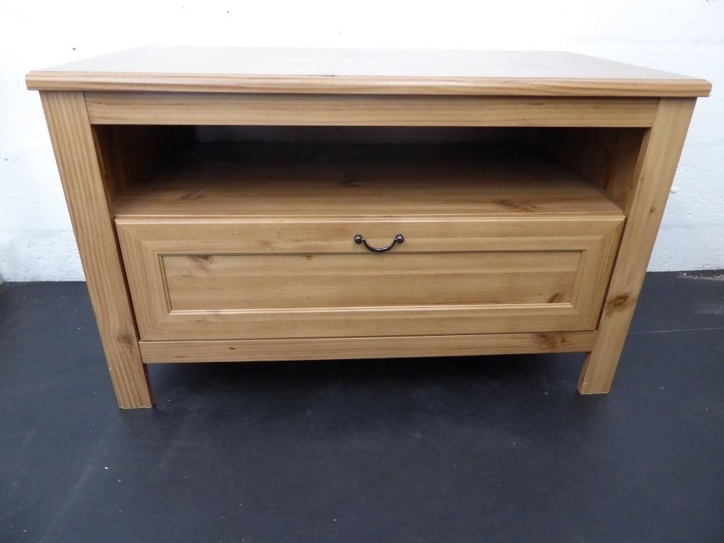 Ikea Grevback Tv Stand Unit With Built In Drawer In Chester  # Grevback Ikea Banc Tv Dimensions