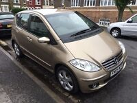 MERCEDES A180 CDI DIESEL AVANTGARDE 2005 LEATHER, LONG MOT, FULL COMPREHENSIVE HISTORY,DRIVES WELL