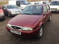 FORD FIESTA GHIA LADY OWNED FOR YEARS IN VGCONDITION 1 YRS MOT NICE COEAN CAR WITH ALLOY WHEELS