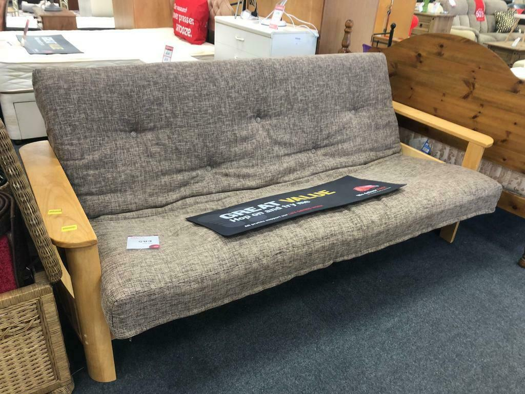 Bhf Pine Frame Futon Sofa Bed In