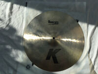 "Zildjian K Dark Thin Crash - 16"" - 988g - MINT CONDITION"