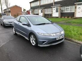 Honda Civic 2007 1.8 type S £2750 ono