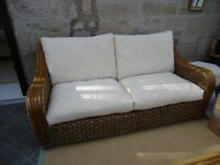 Conservatory settee and 2 chairs