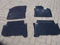2004 VW Touran Genuine VW Rubber Mats Front and Rear